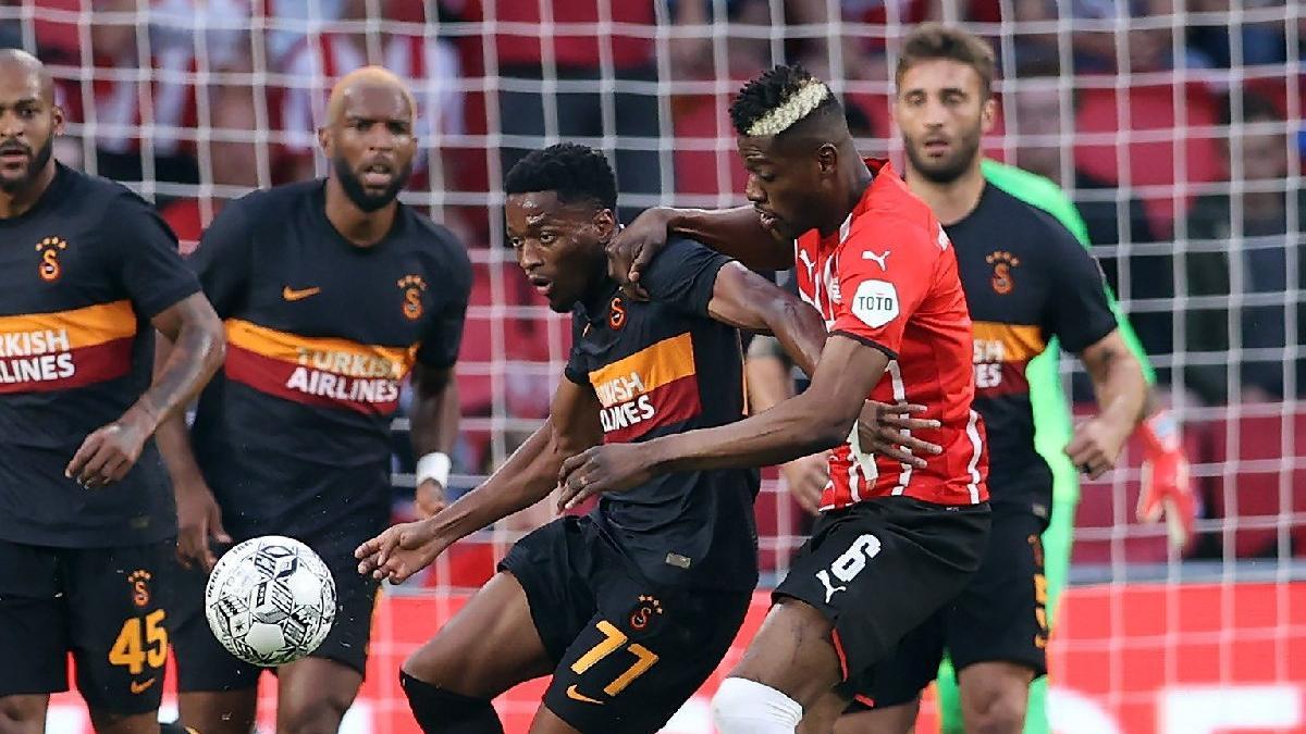 Galatasaray PSV karşısına fark için çıkıyor