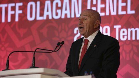 TFF Başkanı Nihat Özdemir'den seyircili maç, Süper Lig A.Ş. ve yabancı kuralı açıklaması