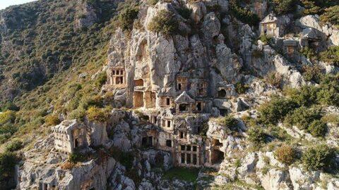 Yerin 10 metre altında yatıyor... Anadolu'nun 'Pompei'si