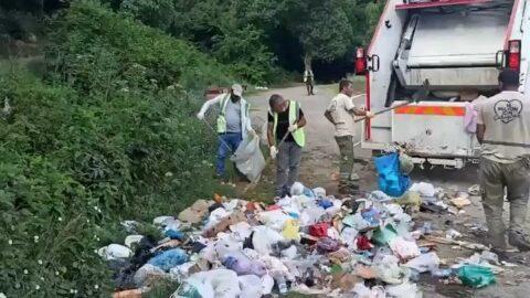 İstanbul'dan bir haftada 817 ton çöp çıktı