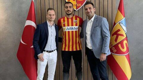Trabzonspor'dan ayrıldı, Kayserispor'a imza attı