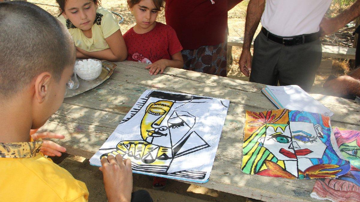 Köyün ressamı Picasso Ali