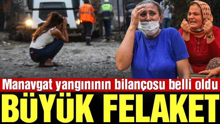Manavgat'ta büyük felaket: 1 kişi hayatını kaybetti, 10 kişi mahsur kaldı