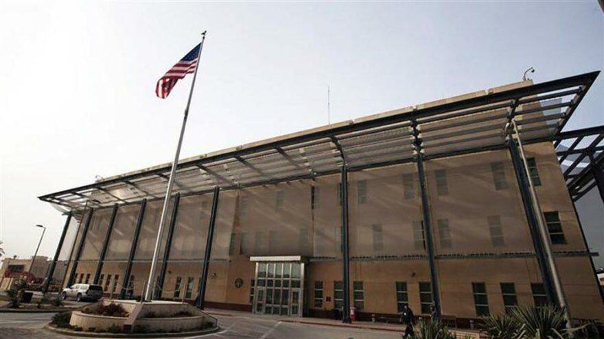 Biden-Kazımi görüşmesinden sonra ABD'nin Bağdat Büyükelçiliği'ne roketli saldırı