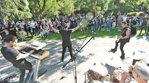 Müzisyenler Sahnem İstanbul diyecek
