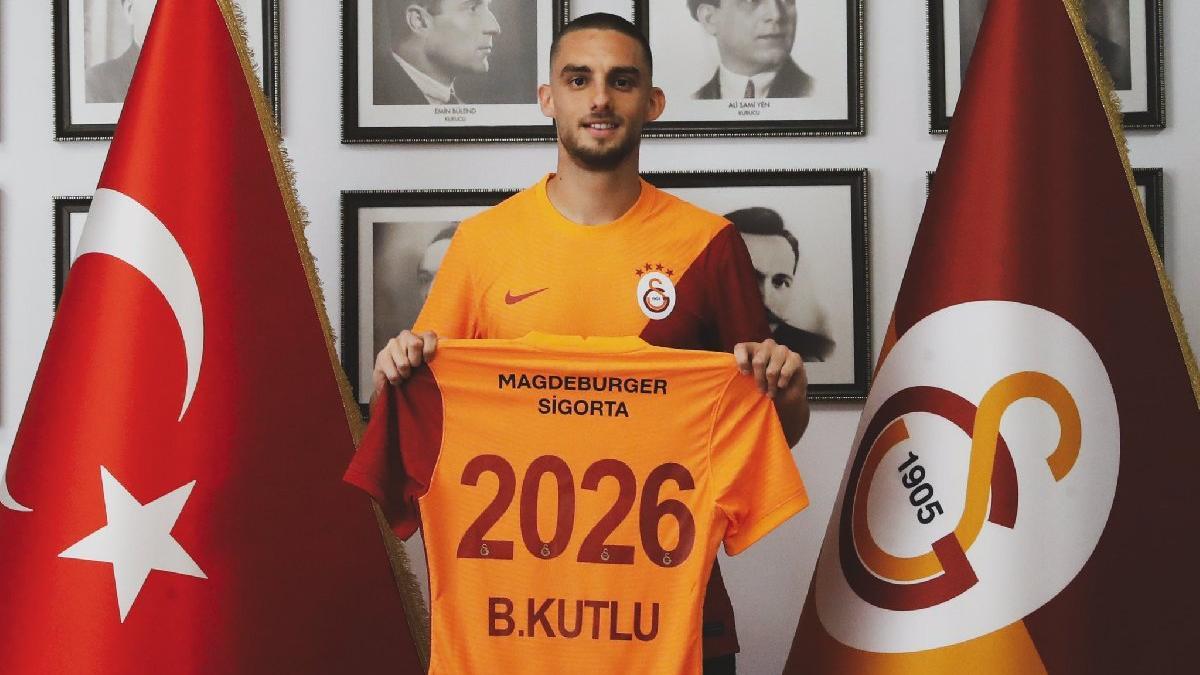 Galatasaray Berkan Kutlu transferini resmen açıkladı