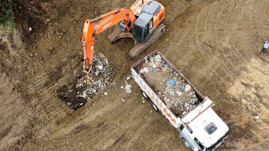 """AKP'li Başkan """"Çöpleri temizledik"""" dedi ama…"""