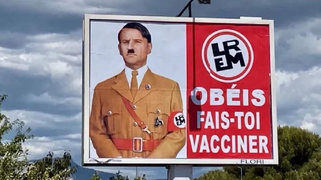 Macron'dan kendisini Hitler'e benzetene dava