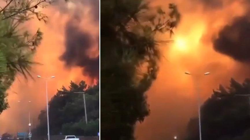 CHP heyeti yangın bölgesinde: Doğayı yok etmeye çalışanlara yazıklar olsun