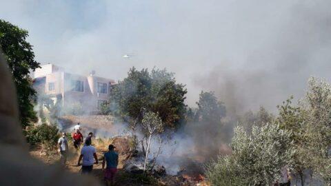 Mersin'de yangın: Bir köy boşaltıldı, 2 çoban kayıp