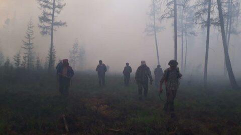 Sibirya'da orman yangınları sürüyor: 1.3 milyon hektarlık alan küle döndü