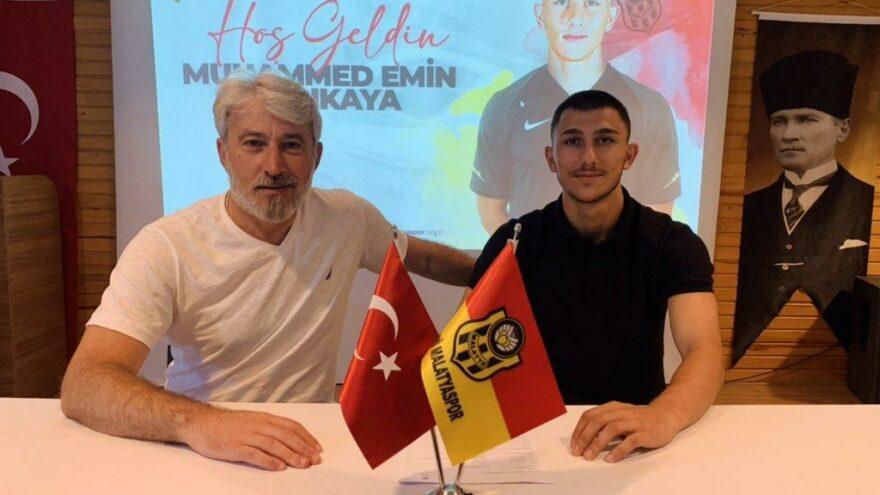 Yeni Malatyaspor, Muhammed Emin Sarıkayayı transfer etti