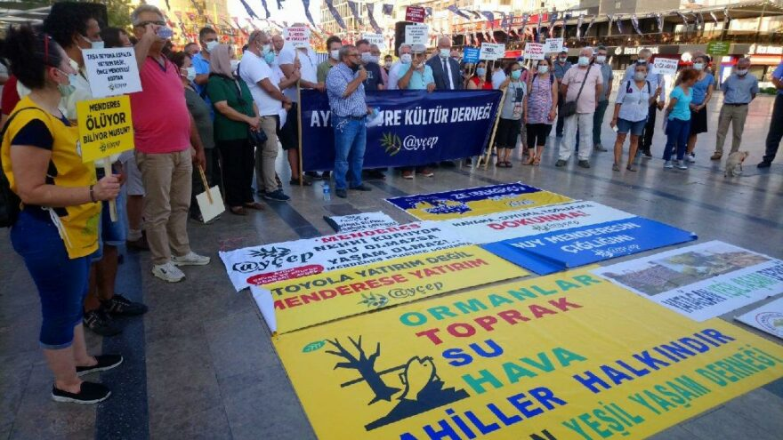 'Menderes Nehri ölüyor'