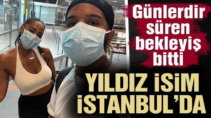 Beşiktaş'ın anlaşmaya vardığı Valentin Rosier İstanbul'a geldi