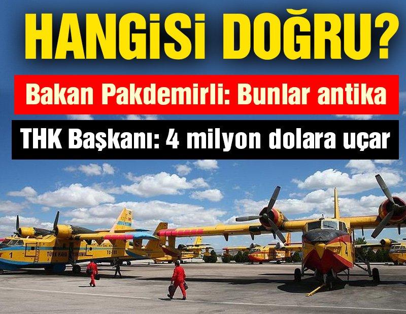 """Orman Bakanı """"Bunlar antika"""" diyor, AKP'li kayyum yalanlıyor"""
