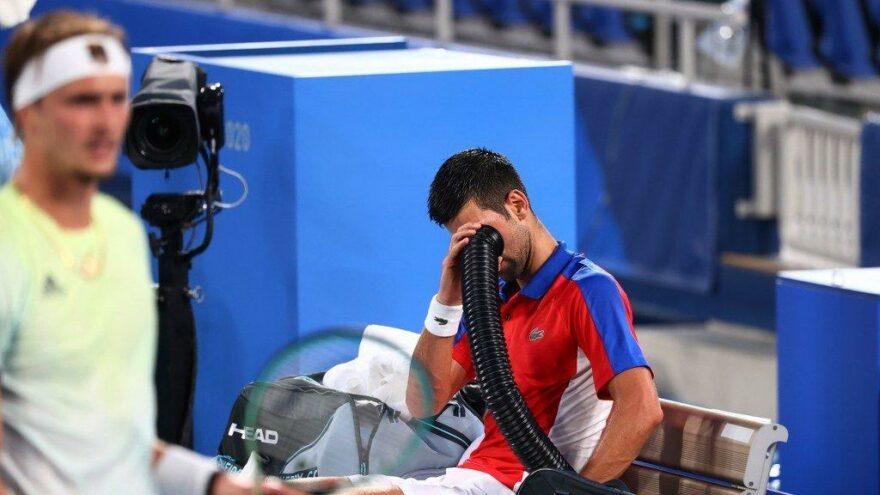 Novak Djokovic'in 'Golden Slam' hedefini Zverev engelledi