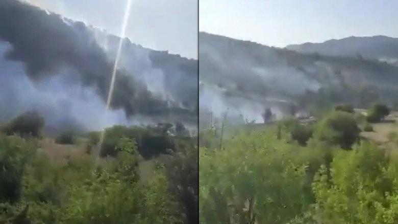 Mansur Yavaş duyurdu: Ankara'da çıkan yangın kontrol altına alındı