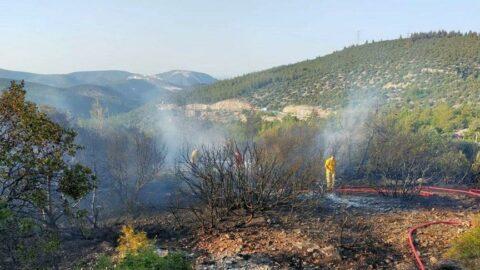 Bilecik'te orman yangını: 1 şüpheli gözaltında