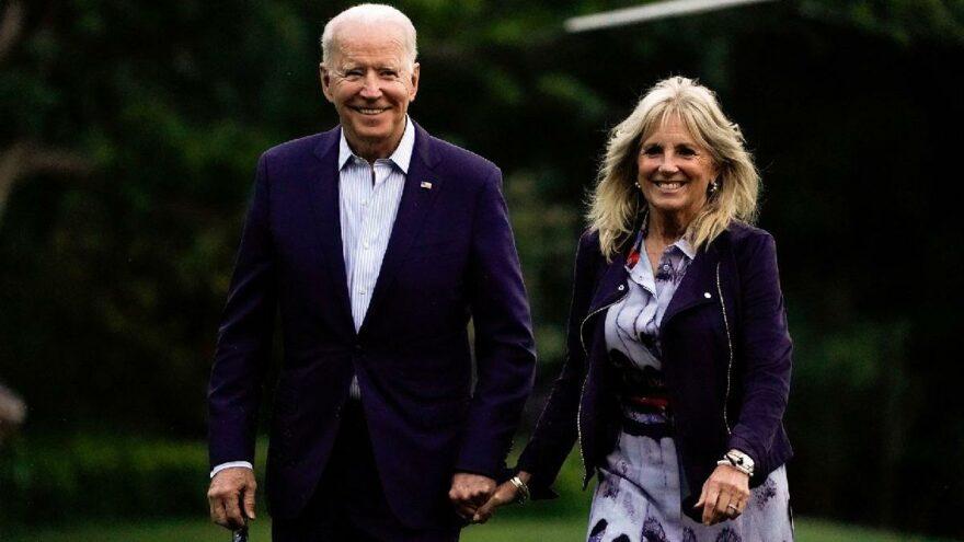 First Lady Jill Biden ayağından operasyon geçirdi