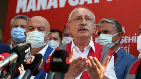 Kılıçdaroğlu, yangın bölgesinden Erdoğan'a seslendi: Kendine 13 uçak alacağına, 12 tane yangın söndürme uçağı alsaydın