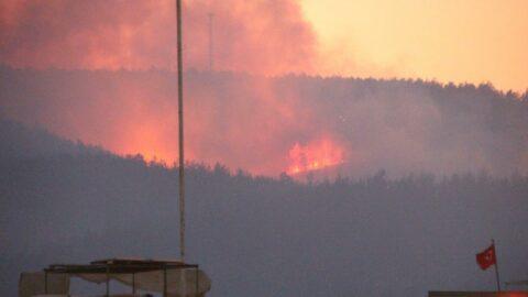 Bakan açıkladı: Üç yangın kontrol altına alındı