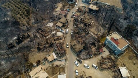 Bakan Kurum, yangın felaketinin boyutunu açıkladı