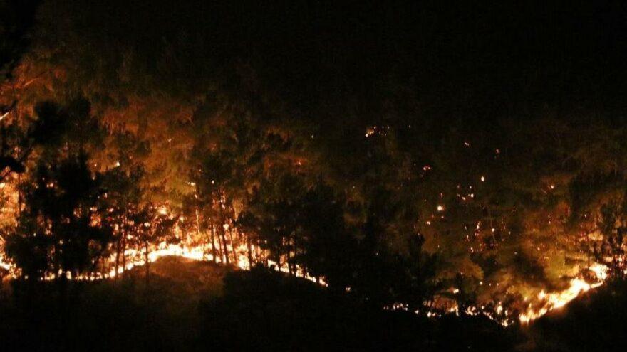 Manavgat'tan acı haber: Alevlerin arasında kalan 2 orman işçisi hayatını kaybetti