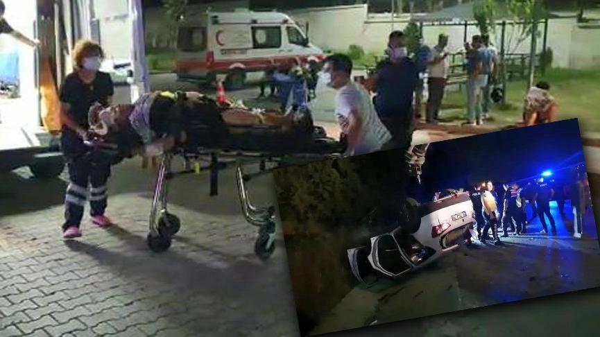 Bursa'da 3 aracın karıştığı kazada 1 kişi öldü