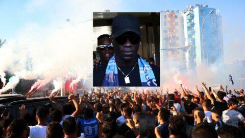 Adana Demirspor taraftarının Mario Balotelli izdihamı!