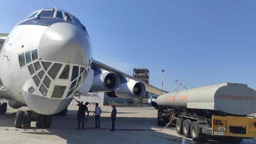 MSB: İran uçağına su ikmali yaptık
