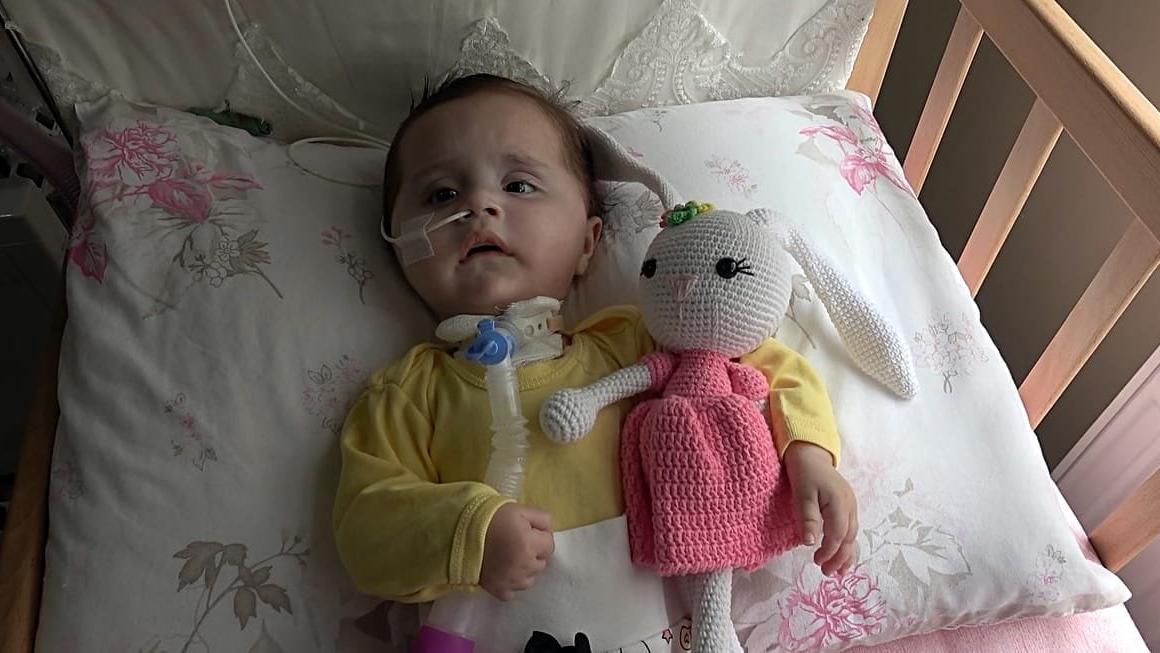 SMA hastası Zeynep'in nefes alması için para toplanan kumbarayı çaldılar