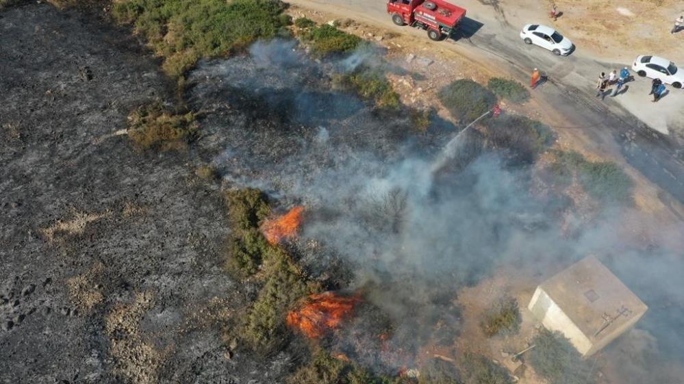 Didim'deki yangınla ilgili 3 şüpheli gözaltına alındı