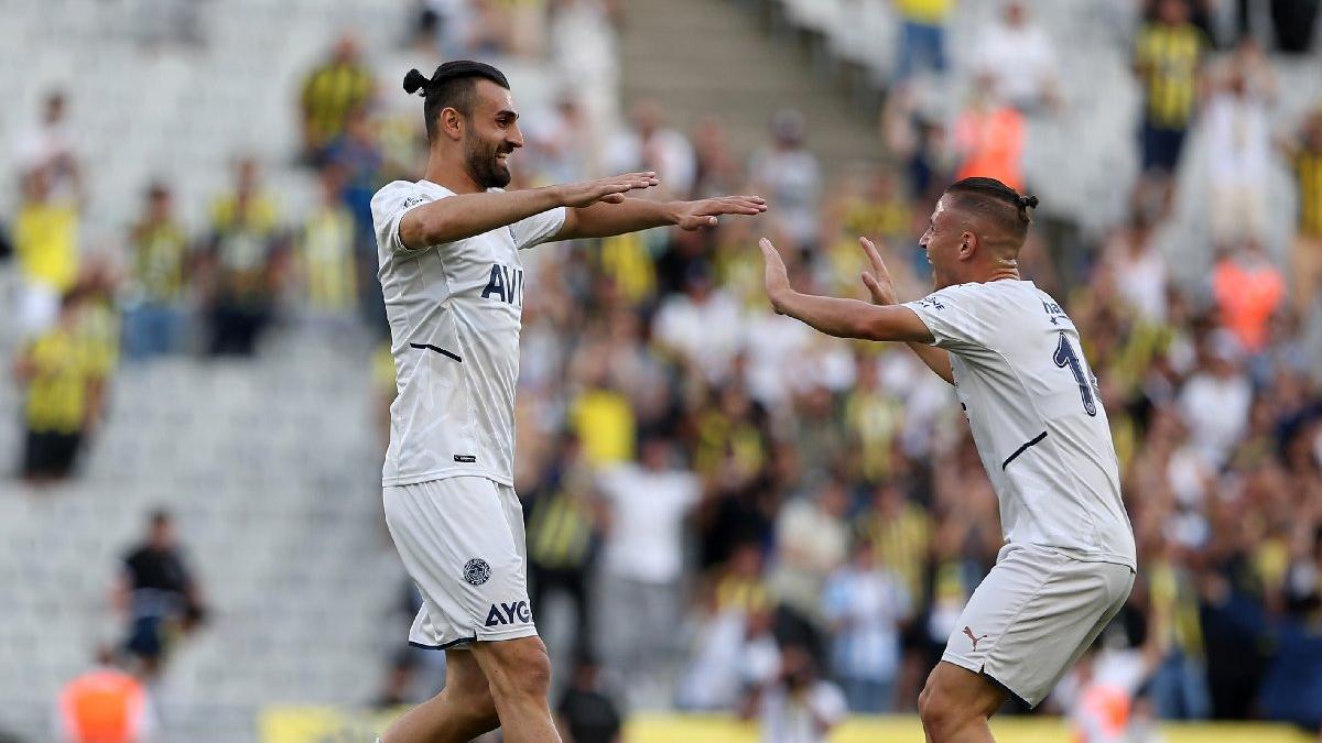 Fenerbahçe fişi ilk yarıda çekti, Greuther Fürth'ü 3-2 yendi!