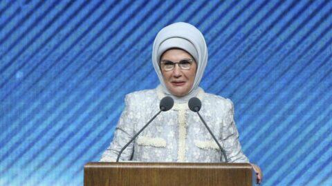 Emine Erdoğan: Yepyeni fidanlar yeşertelim