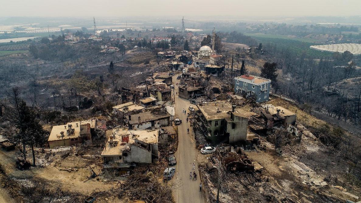 Manavgat ağır yaralı: Manzara korkunç