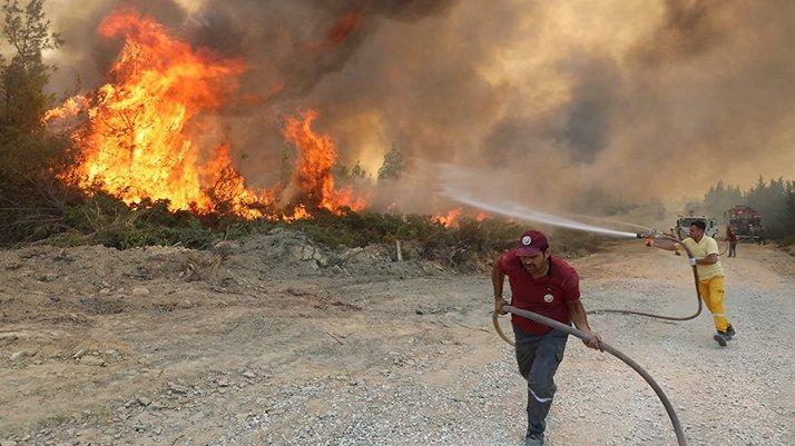 Yangından etkilenenler için Bankalar Birliği'nden tavsiye kararı