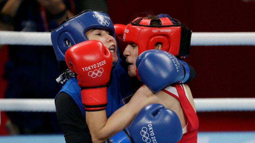 Buse Naz Çakıroğlu da Olimpiyat madalyasını garantiledi | Tokyo 2020