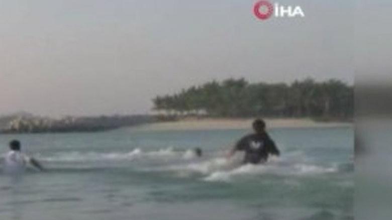 Dubai Veliaht Prensi Maktum, federasyon başkanını boğulmaktan kurtardı