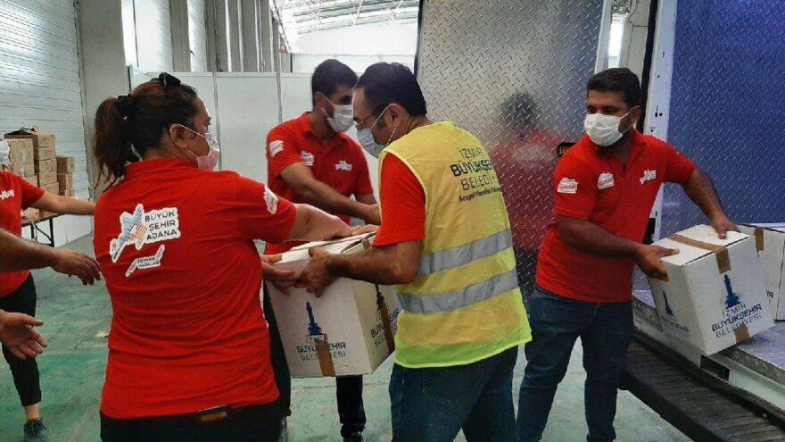 Kentler arasında zor gün dayanışması: İzmir'den Artvin, Adana ve Muğla'ya destek