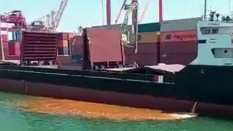 Denizi kirleten gemi Vahap Seçer'i isyan ettirdi: En ağır şekilde cezalandıracağız!