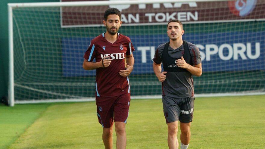 Trabzonspor'da Abdülkadir Ömür takımdan ayrı çalıştı