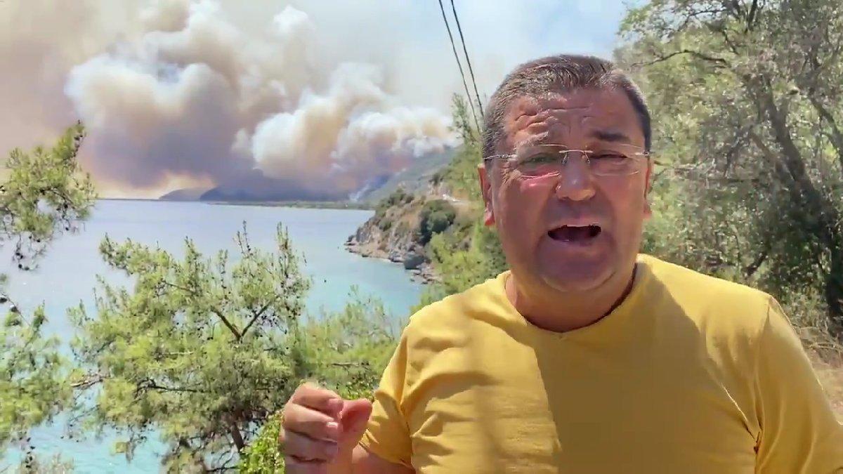 Milas Belediye Başkanı isyan etti: Havadan müdahale hala yok