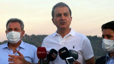 AKP'li Ömer Çelik: Ormanlar yandıktan sonra yapılaşmaya açılacakmış gibi ifadeler var! Bunların hepsi yalan