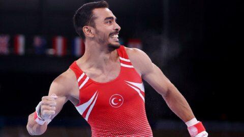 Olimpiyatlarda cimnastikte ilk madalya! Harikasın Ferhat