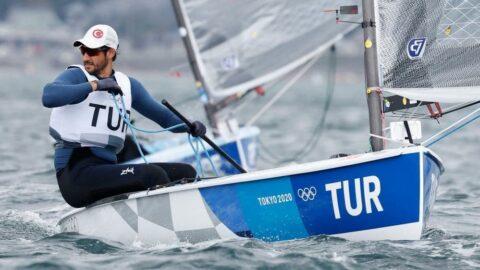 Alican Kaynar olimpiyatları sekizinci tamamladı