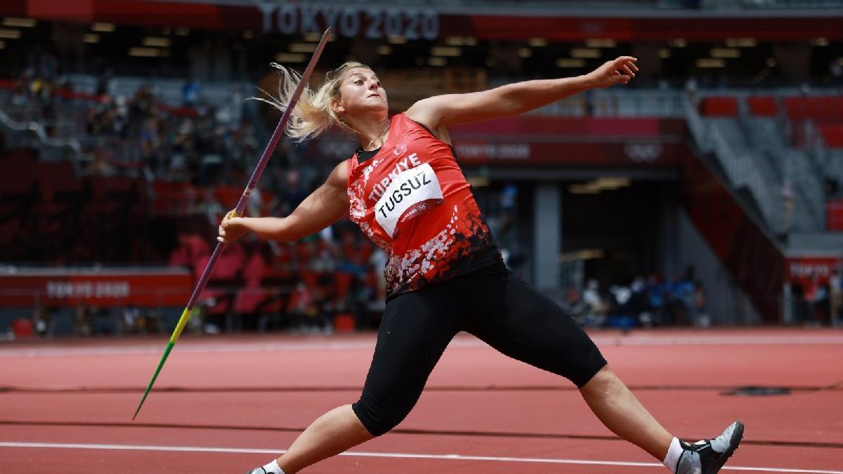Eda Tuğsuz cirit atmada finalde! | 2020 Tokyo Olimpiyatları