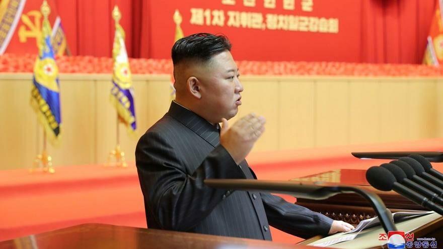 Kim Jong-un'un ensesindeki bandaj gündem oldu