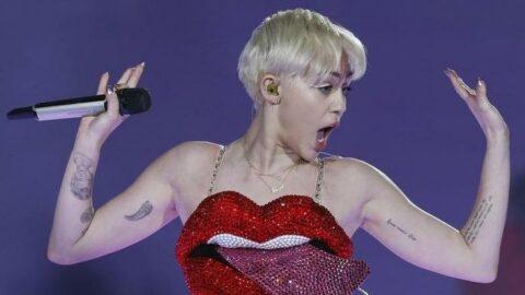 Miley Cyrus, kripto milyarderi için sahne aldı