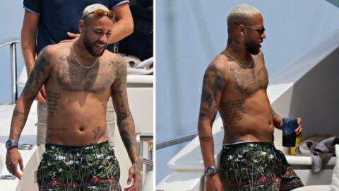 Neymar'ın fazla kiloları şaşkına çevirdi