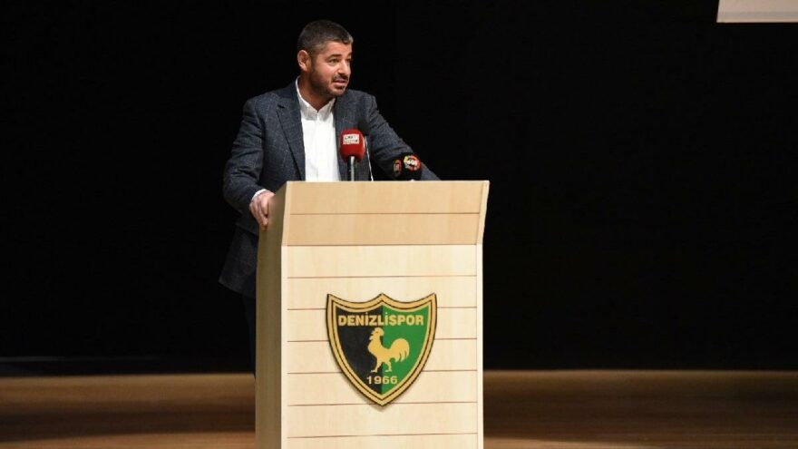 Denizlispor'da başkanlık krizi çözüldü
